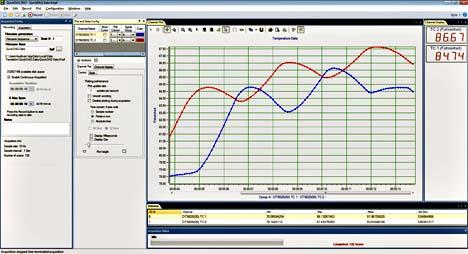 dt9844 32 entrées analogiques sur port usb - Logiciel d'acquisition de données gratuit