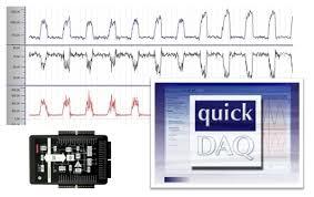 QuickDAQ logiciel data logger acquisition de données Très facile d'emploi, QuickDAQ est un logiciel gratuit data logger supportant toutes les cartes et modules Data translation
