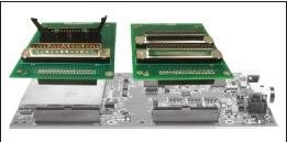DT9844 OEM avec borniers EP353 pour une intégration dans un ensemble de test et mesure, de banc de test, de banc moteur