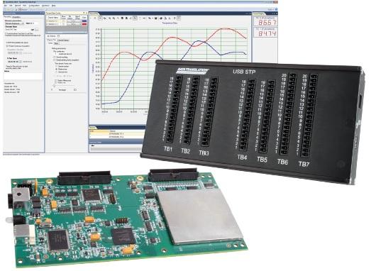 DT9844 USB DAQ 20Bit supporté par QuickDAQ sous Windows pour des mesures immédiates fiables et sans compromis