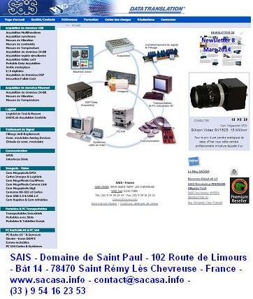 DASYLab Acquisition de donnees SACASA INDUSTRIES ET SYSTEMES