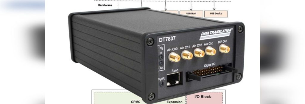 DT7837 DATA TRANSLATION INC ACQUISYS SAIS ANALYSE VIBRATOIRE MODULE USB